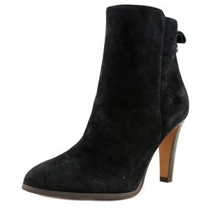 Coach | Black Suede Jemma Ankle Booties 8